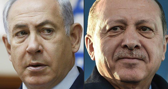 Cumhurbaşkanı Recep Tayyip Erdoğan- İsrail Başbakanı Benyamin Netanyahu