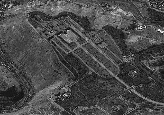 'Ofek 11' adlı istihbarat uydusunun çektiği Esad'ın sarayının fotoğrafını İsrail Savunma Bakanlığı medyaya servis etti.