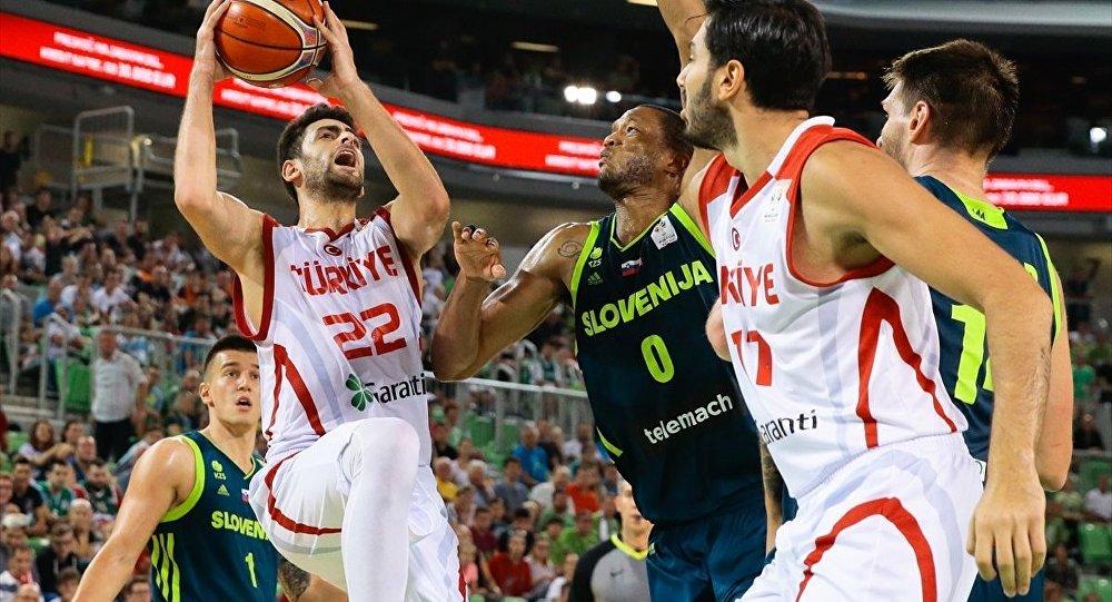 Türkiye A Milli Basketbol Takımından önemli galibiyet