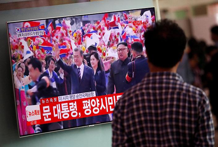 Kuzey Kore'ye ayak basan son Güney Kore liderleri Kim Dae-jung (2000) ve Roh Moo-hyun (2007) olmuştu.