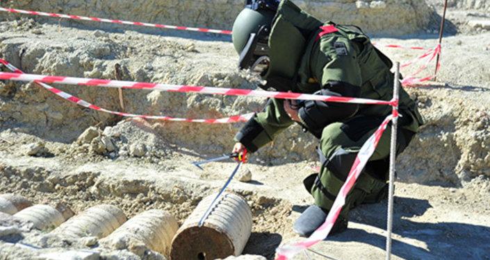Çanakkale Savaşlarından kalma patlamamış top mermisi imha edildi