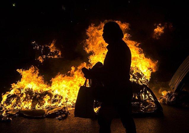 Yunanistan'da ırkçılık karşıtı gösteri