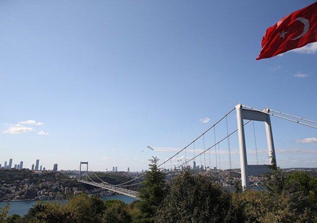 Türk Yıldızları'ndan Boğaz'da görsel şölen