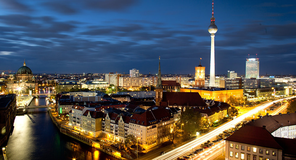 Berlin city view