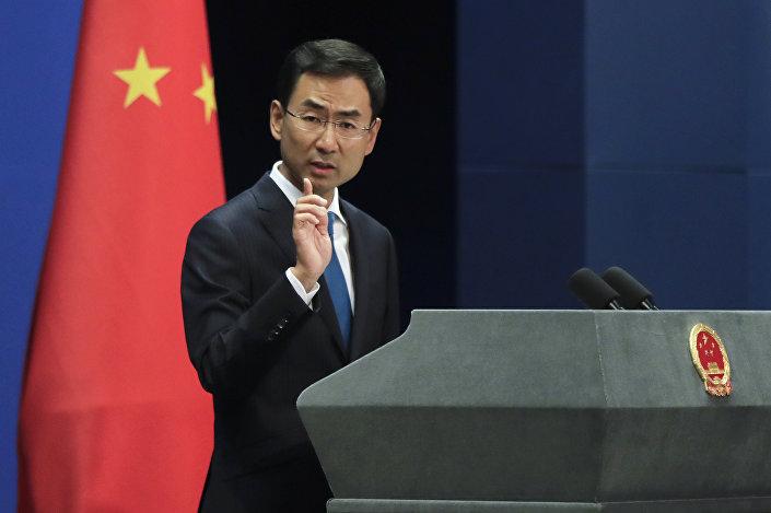 Çin Dışişleri Sözcüsü Geng Shuang