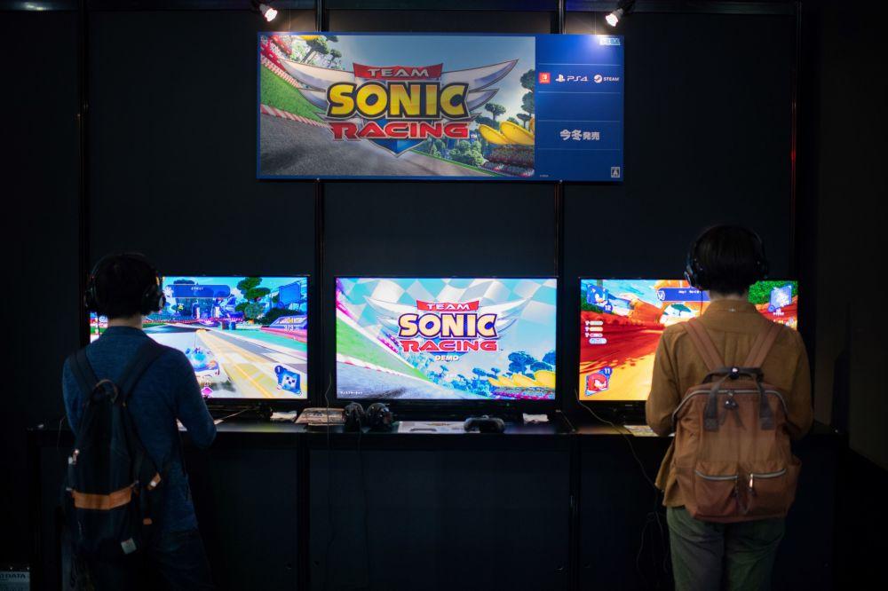 Japonya'daki Tokyo Game Show Fuarı