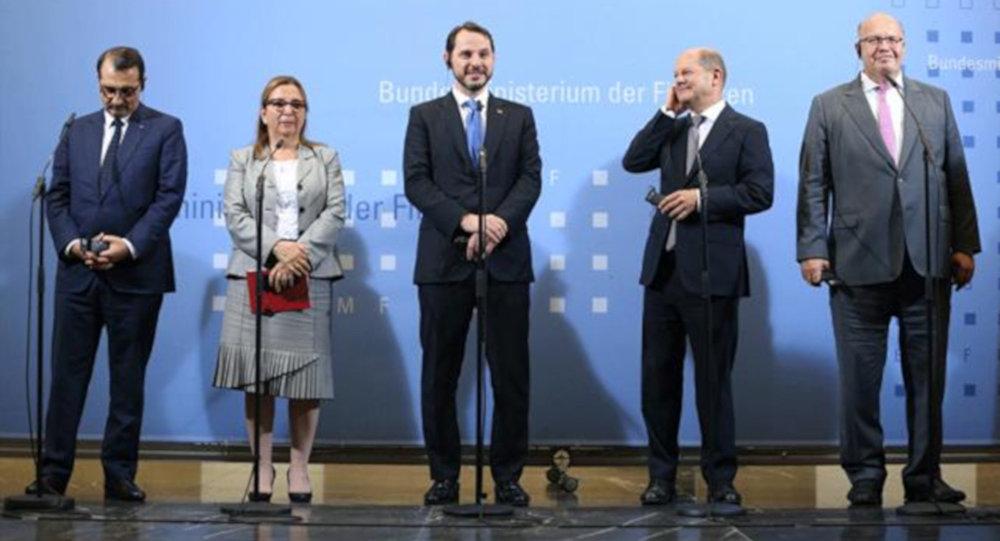 Bakan Albayrak: Almanya ile ilişkilerimizin ilerlemesi için yeni bir dönem başladı