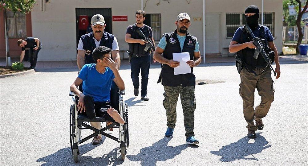 IŞİD üyesi 'Ebu Eyüp' kod adlı Ahmed İsa, Adana'da tedavi gördüğü hastanede yakalandı