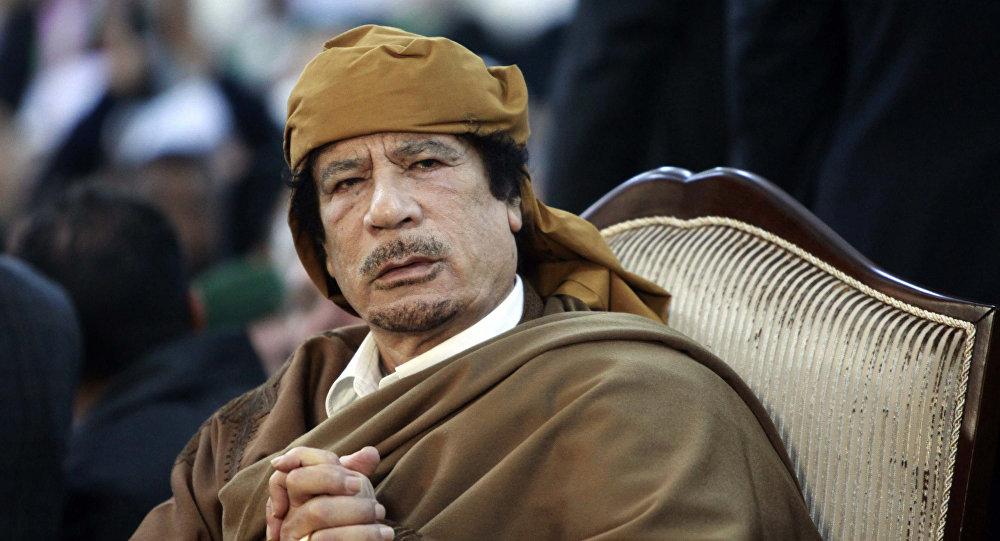 Kaddafi'nin son sözleri açıklandı: Emperyalistlere karşı direnin