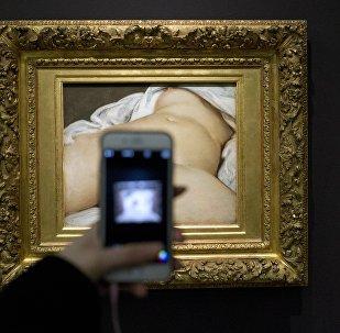 Gustave Courbet'nin  'L'Origine du monde' (Dünyanın Kökeni)