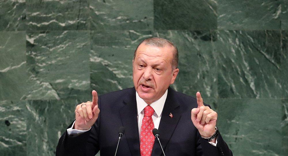 Recep Tayyip Erdoğan 73. BM Genel Kurulu'nda konuştu.