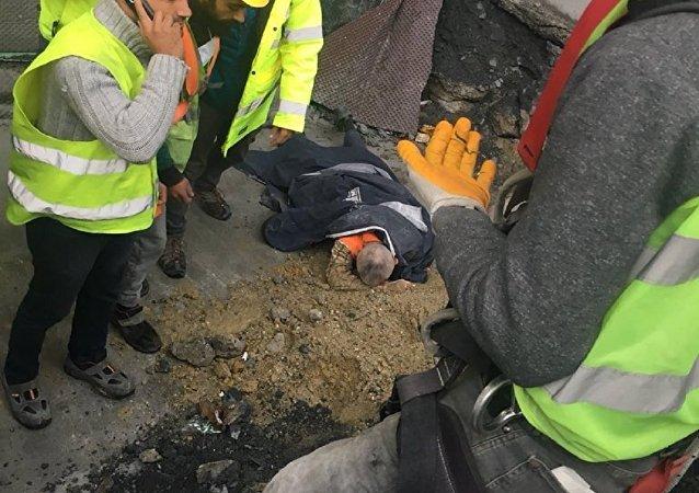 3. havalimanında iş kazası