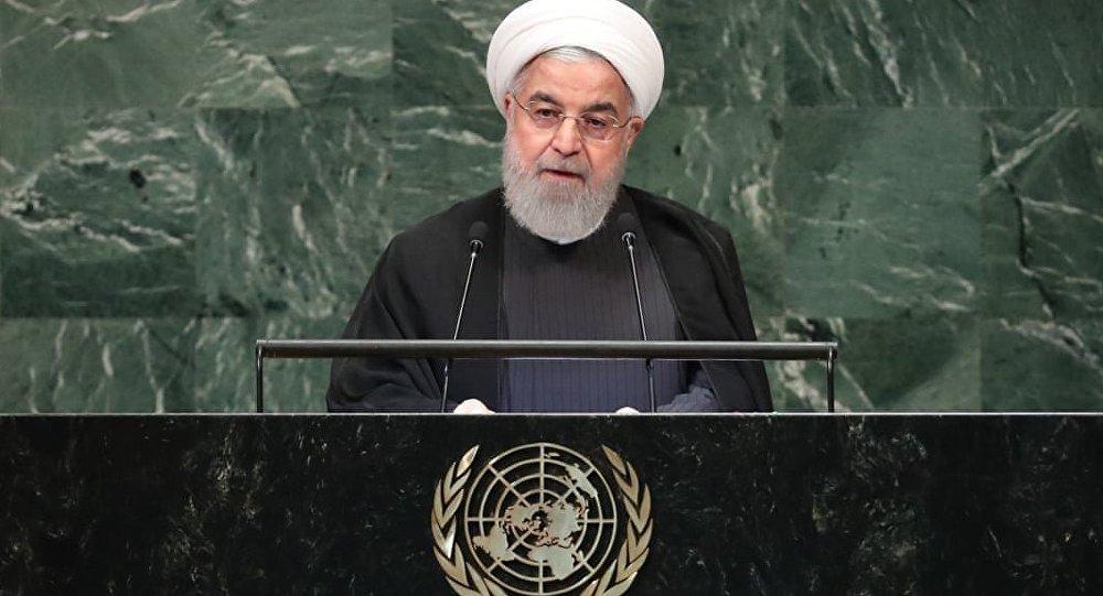 İran Cumhurbaşkanı Hasan Ruhani Birleşmiş Milletler (BM) Genel Kurulu konuşması