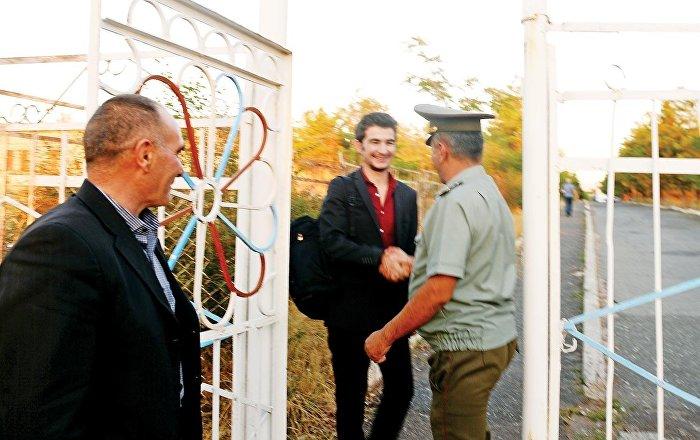 Ermenistan'da 2 aydır tutuklu bulunan Umut Ali, tahliye edildi