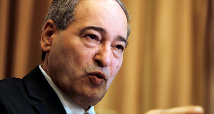 Suriye Dışişleri Bakanı Yardımcısı Faysal Mikdad
