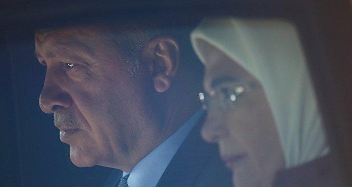 Recep Tayyip Erdoğan - Emine Erdoğan, Almanya