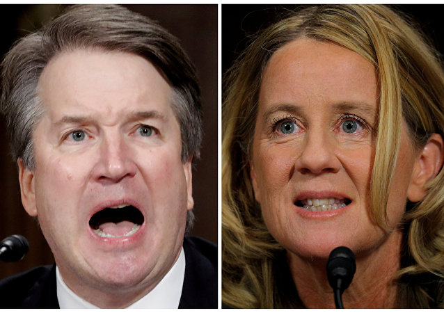Brett Kavanaugh- Christine Blasey Ford