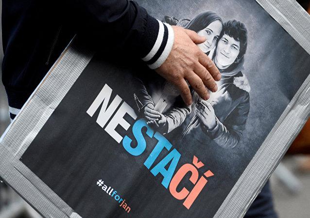 Öldürülen Slovak gazeteci Jan Kuciak ve nişanlısı Martina Kusnirova