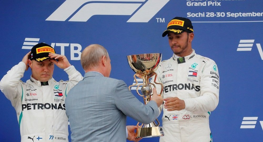 Lewis Hamilton, Rusya Formula 1