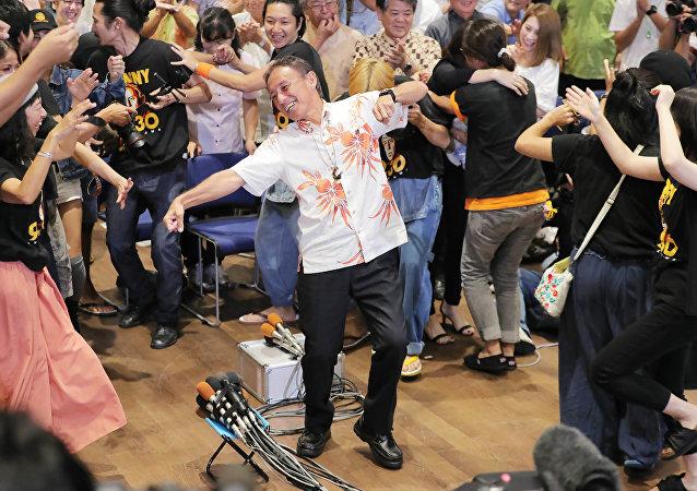 Yeni Okinawa Valisi Danny Tamaki