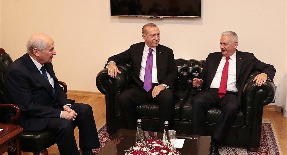 Erdoğan - Bahçeli- Yıldırım