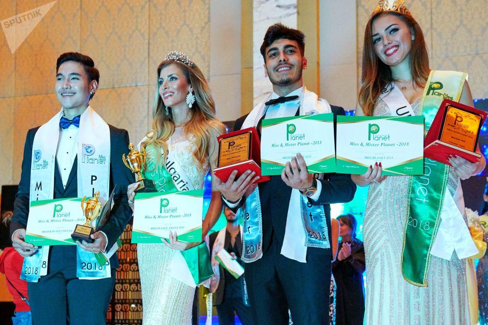 Gürcistan'da Miss and Mister Planet Güzellik Yarışması