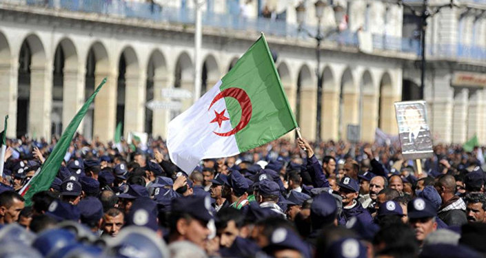 Cezayir bayrağı