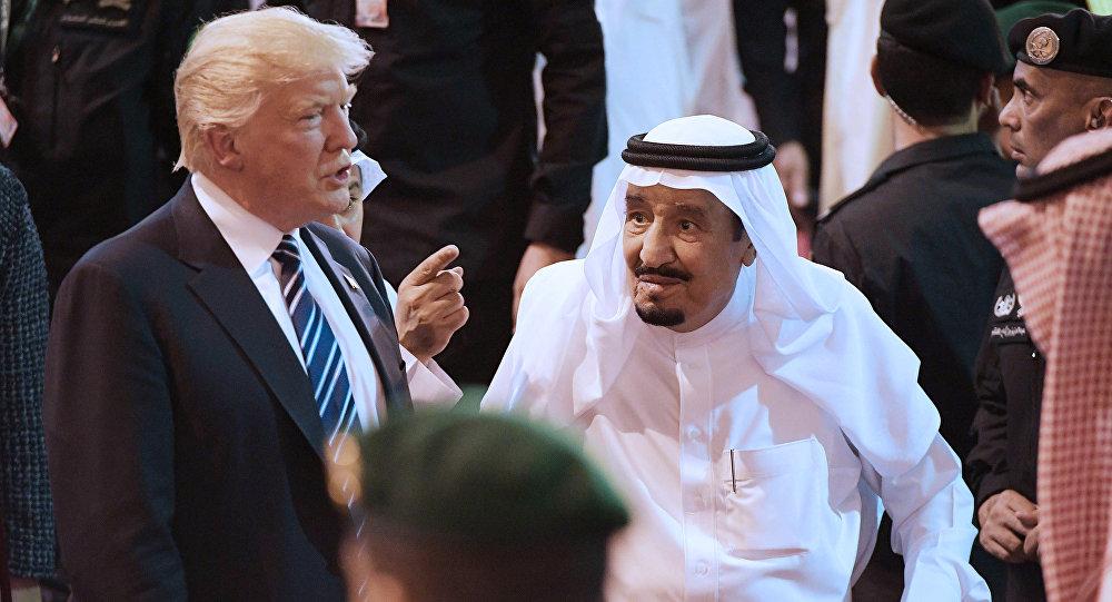 ABD Başkanı Donald Trump- Suudi Arabistan Kralı Selman
