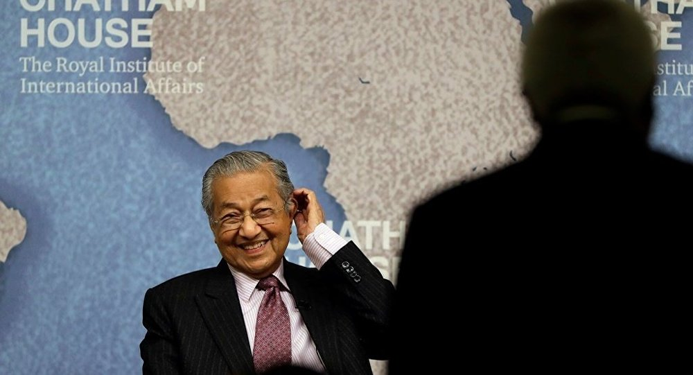 Malezya Başbakanı Mahathir Muhammed
