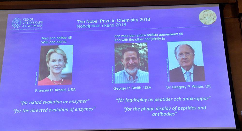 2018 Nobel Kimya Ödülü sahiplerini buldu