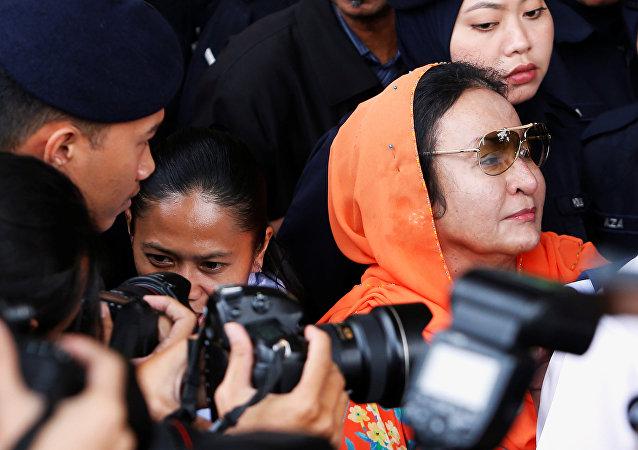 Eski Malezya Başbakanı Rezak'ın eşi Rosmah Mansor