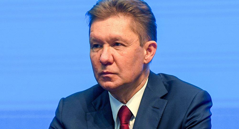 Gazprom CEO'su Aleksey Miller