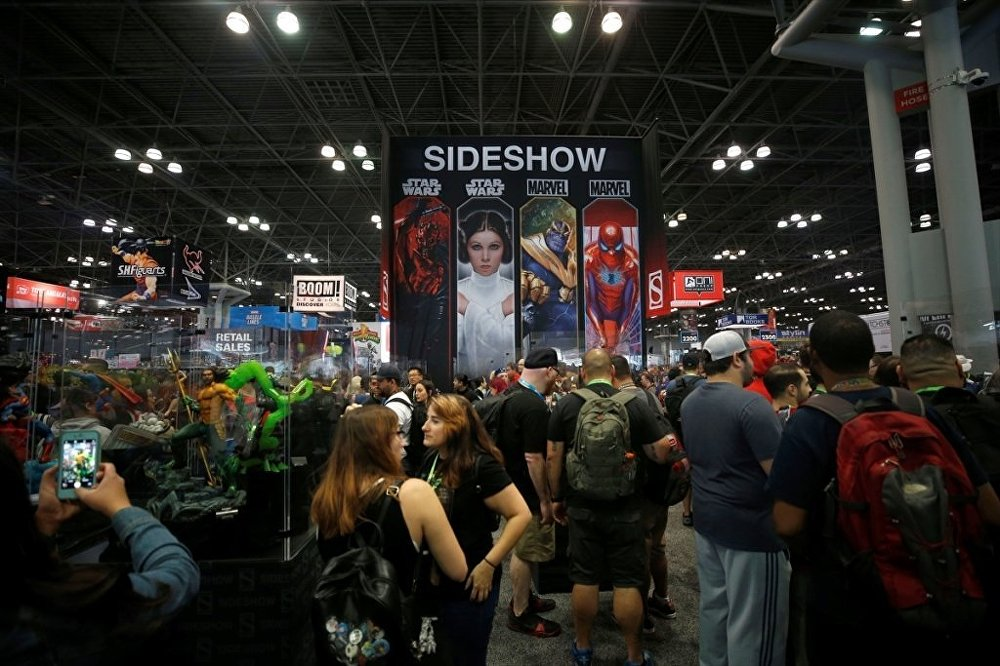 New York Comic-Con 2018 fuarı