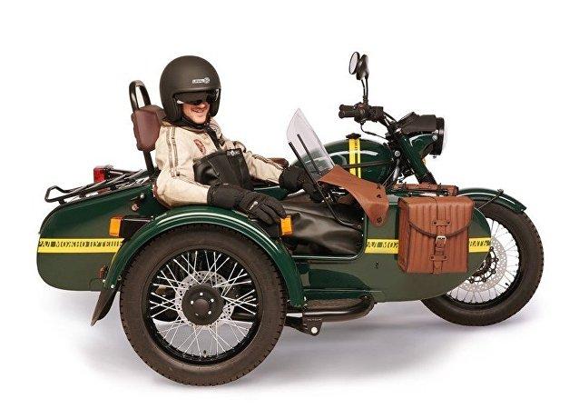Ural Transsib model motosiklet