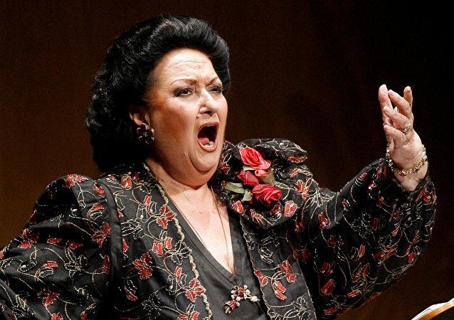 İspanyol opera efsanesi Montserrat Caballe