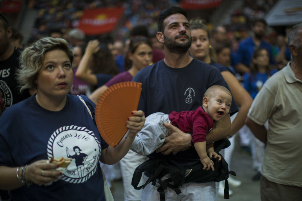 İspanya'da İnsan Kuleleri Festivali