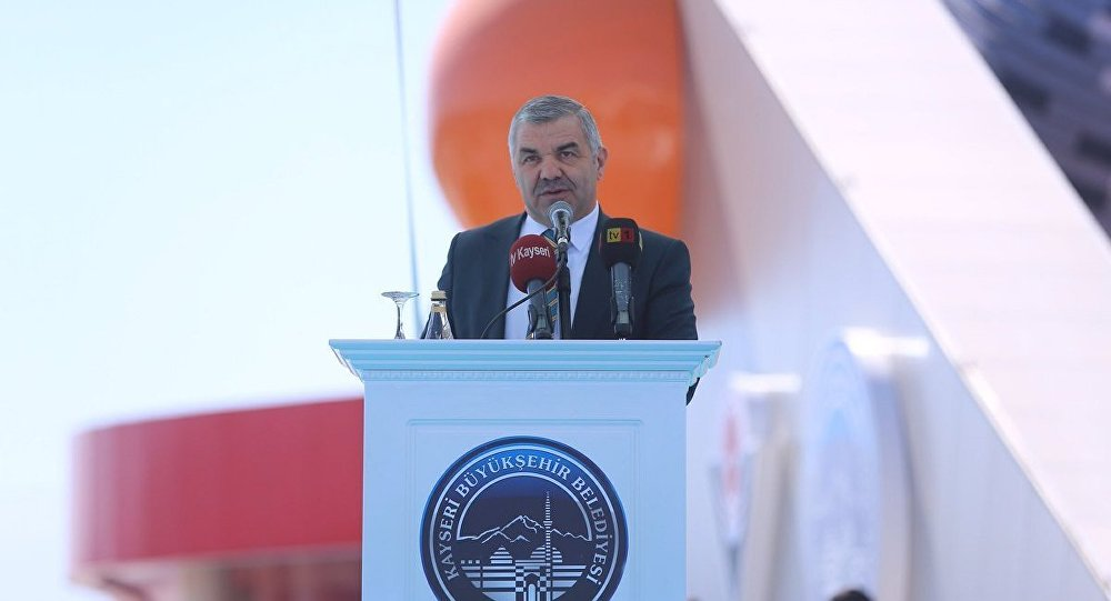 Kayseri Büyükşehir Belediye Başkanı Mustafa Çelik
