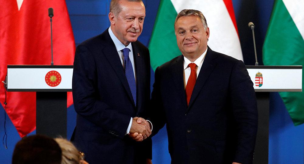 Budapeşte'de Erdoğan-Orban basın toplantısı