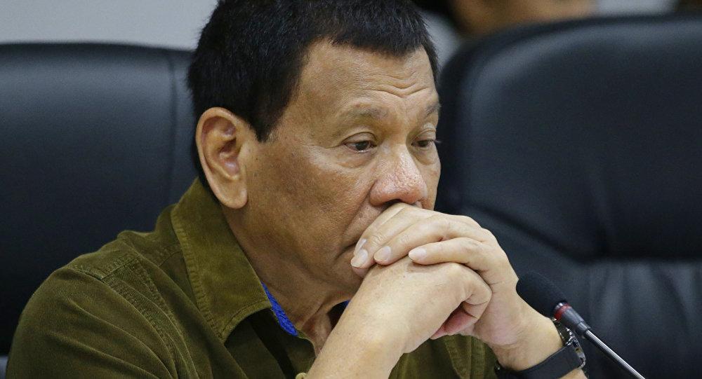 Filipinler lideri Rodrigo Duterte
