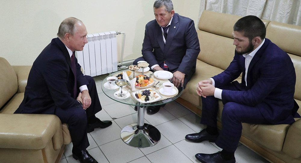 Vladimir Putin- Khabib Nurmagomedov