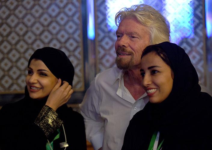 Vrigin Group'un kurucusu İngiliz iş adamı Sir Richard Branson