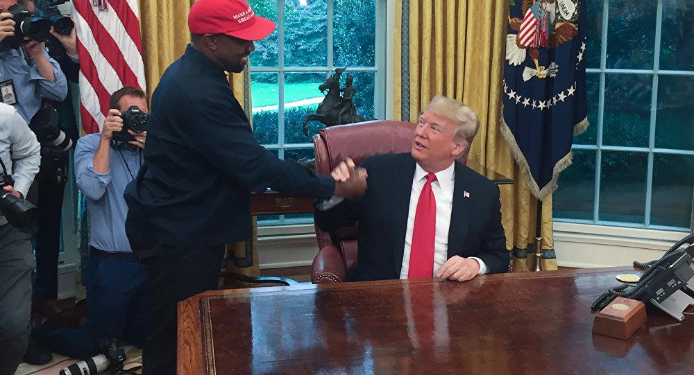 Kanye West-ABD Başkanı Donald Trump