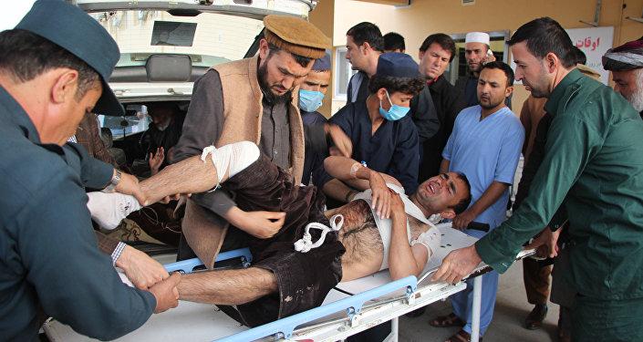 Afganistan'ın kuzeyindeki Takhar bölgesinde bombalı saldırı