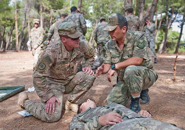 ABD askerleri Münbiç için Gaziantep'te eğitim görüyor
