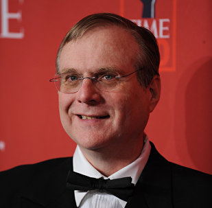 (FILES) In this file photo taken on May 8, 2008 Paul Allen, Microsoft co-founder, arrives at Time Magazine's 100 Most Influential People in the World dinner in New York.