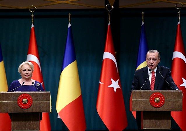 Dancila, Erdoğan