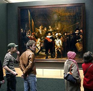 Rembrandt'ın 'Gece Devriyesi' tablosu