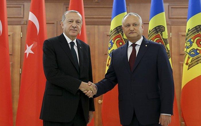 Recep Tayyip Erdoğan - İgor Dodon