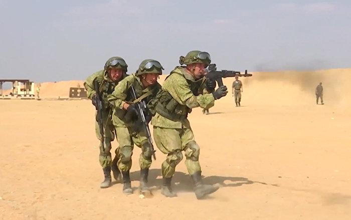Rusya ve Mısır'dan ortak terörle mücadele tatbikatı