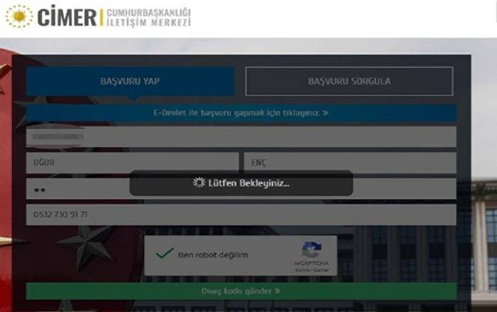 CİMER'e 'bilgiye erişim' alanında uluslararası ödül